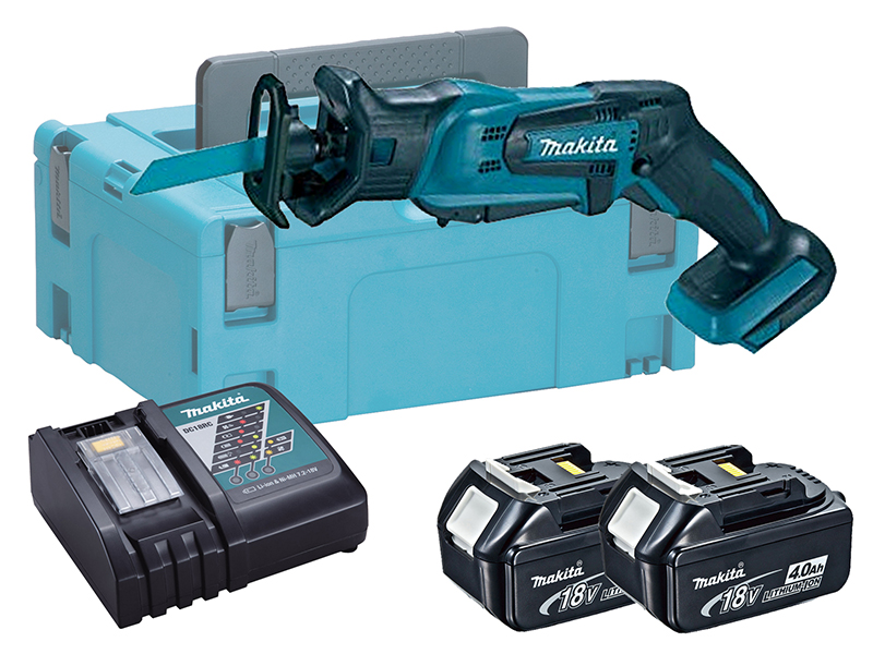 Makita DJR183 18V LXT Mini Brushed Reciprocating Saw - 4.0ah Pack
