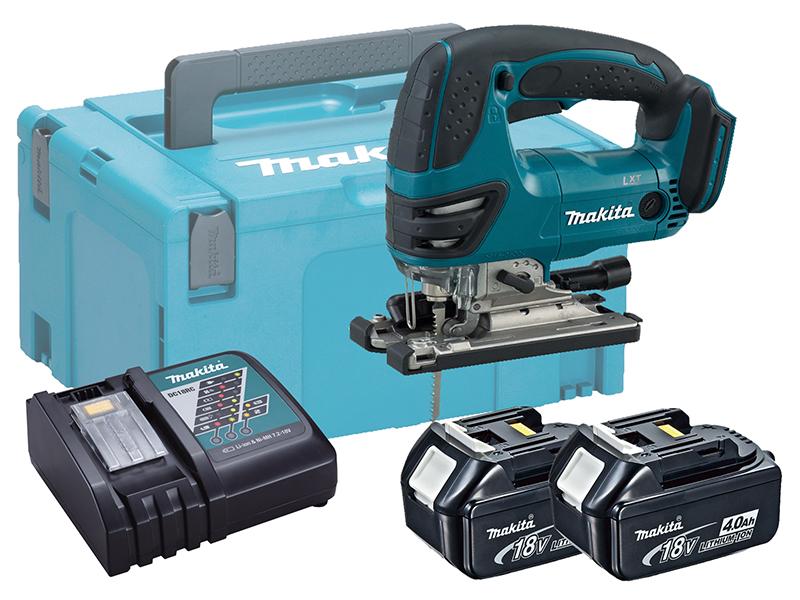 Makita DJV180 18V Brushed LXT Jigsaw Top Handle - 4.0ah Pack
