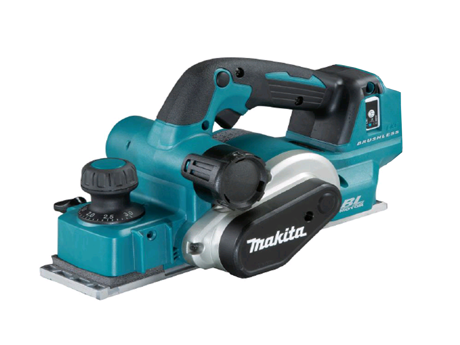 Makita 18V Brushless 82mm Planer + AWS Bluetooth - DKP181ZU - Body Only