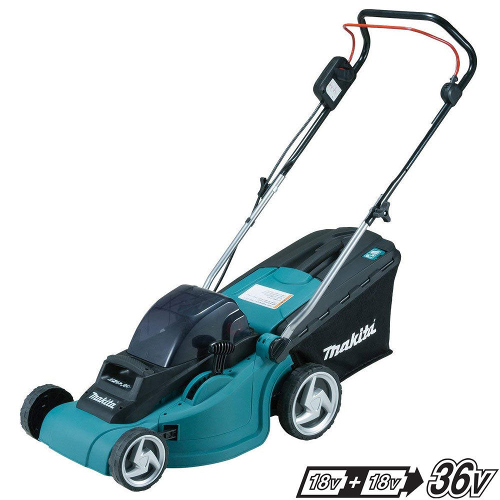 Makita Twin 18V Brushless 38cm Lawnmower - DLM380Z - Body Only