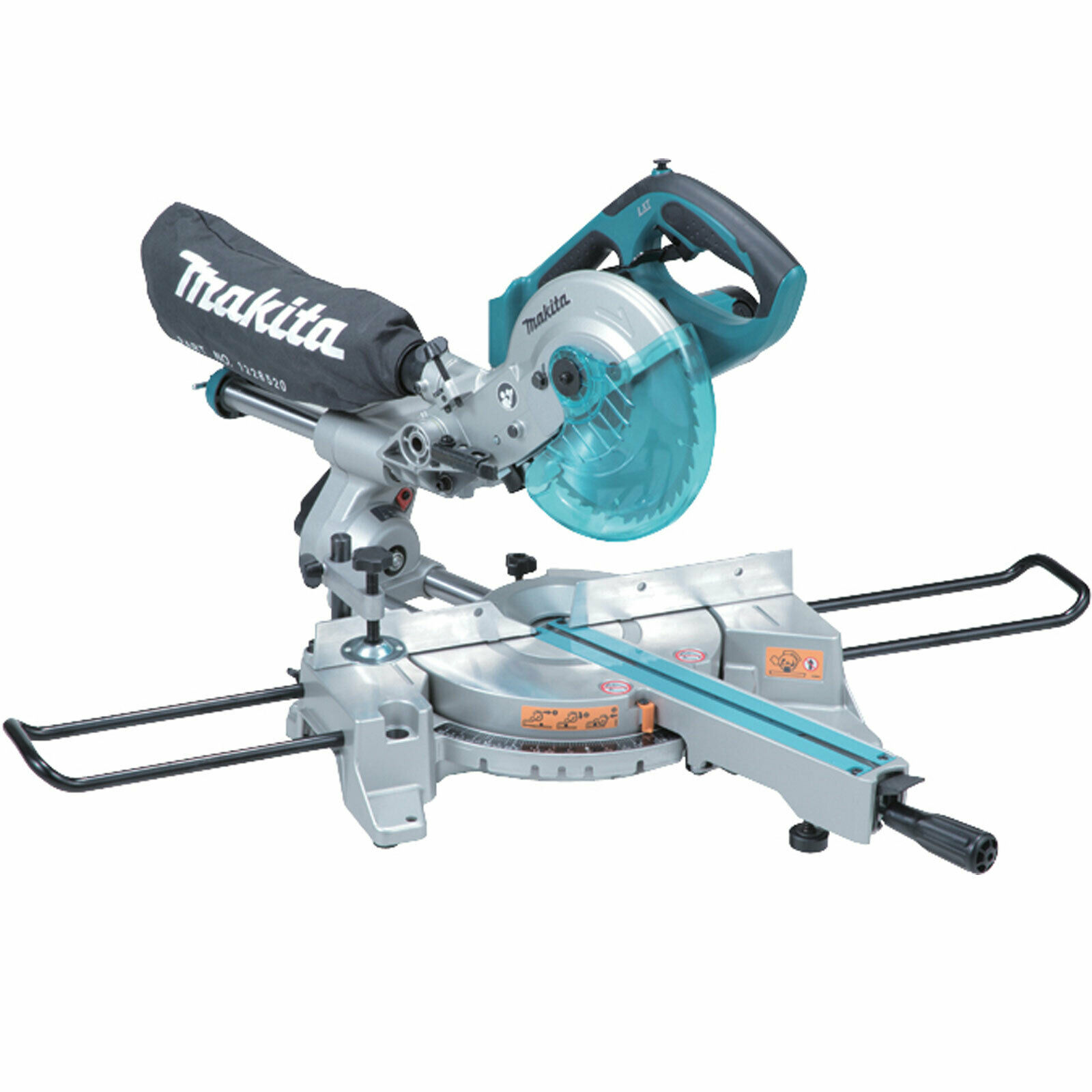 MAKITA 18V 190MM LXT SLIDE/COMPOUND MITRE SAW - DLS713N - BODY ONLY
