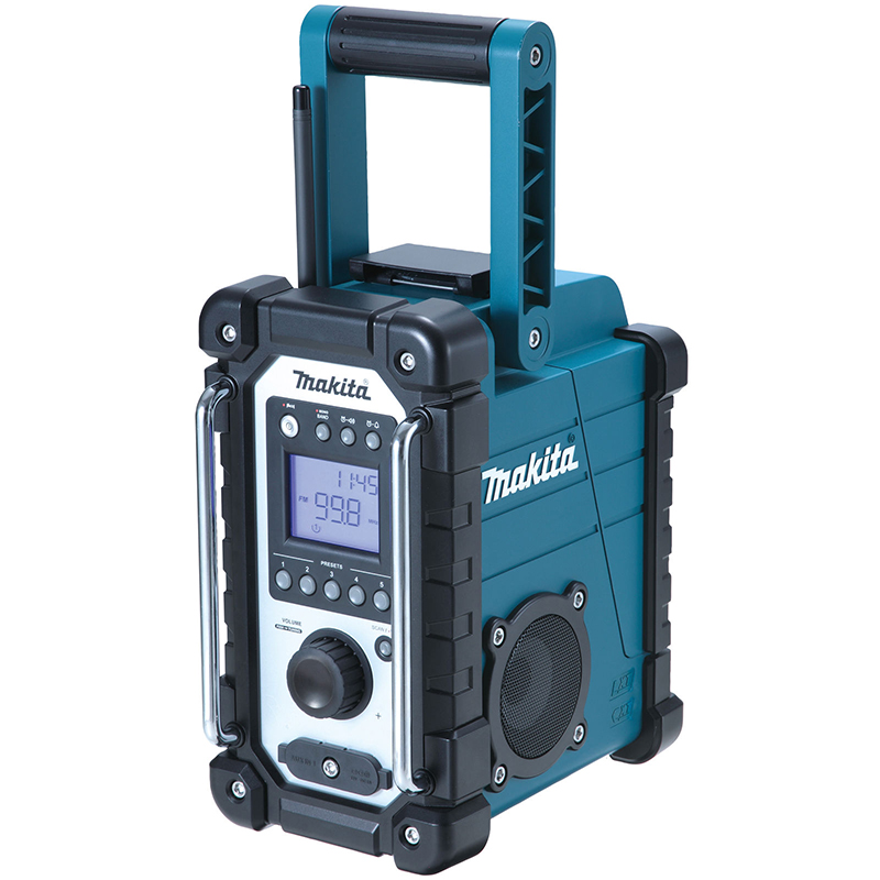 Makita DMR107 Job Site Fm Radio and Auxiliary Connection - Body Only