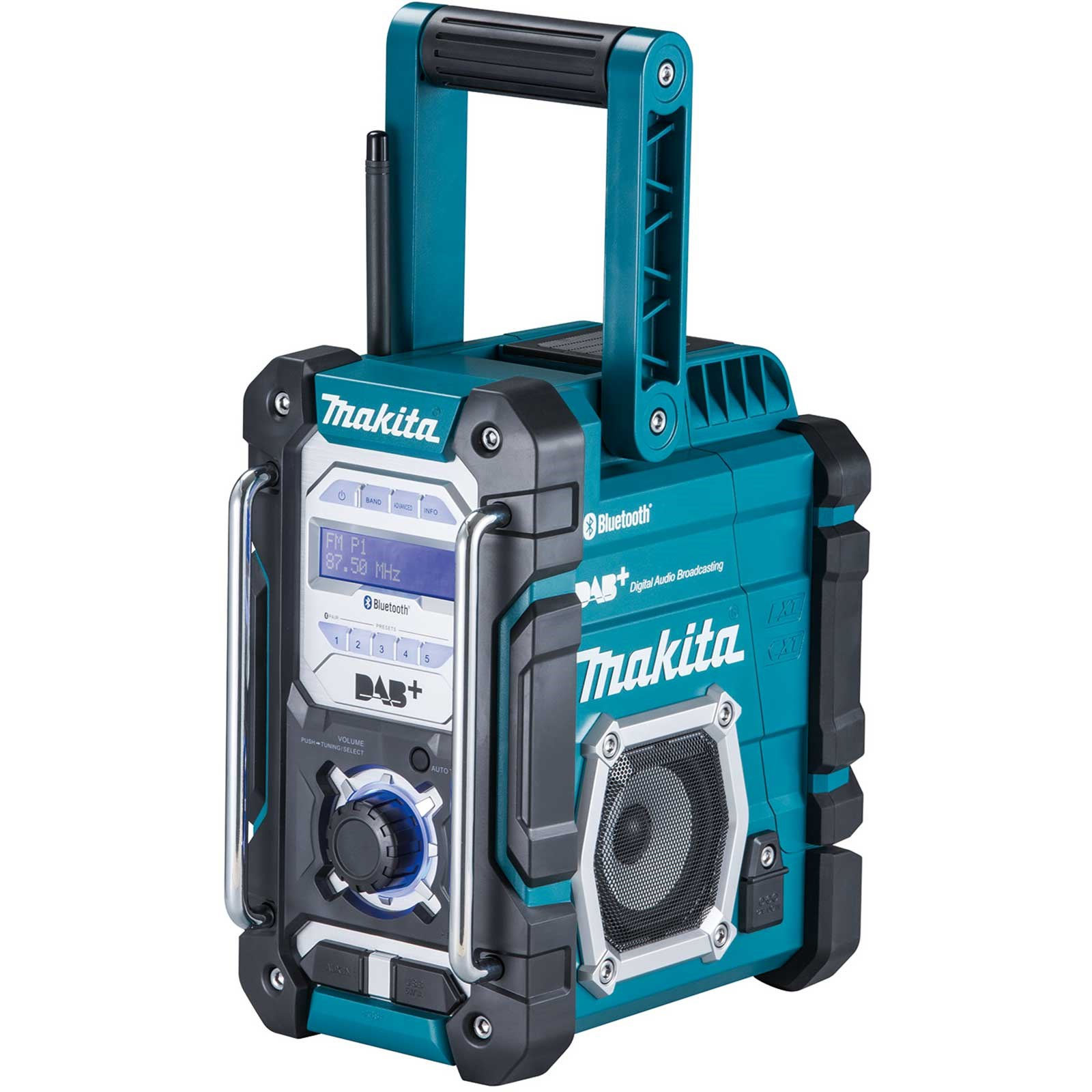Makita DMR112 DAB+ Job Site Radio and Bluetooth Connection - Body Only