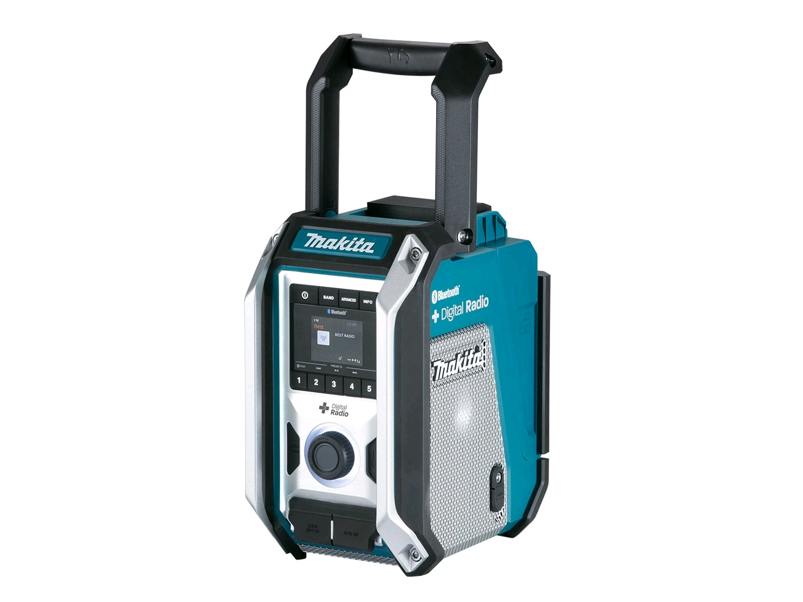 Makita DMR115 Dab+ Job Site Radio With Bluetooth Connection - Body Only