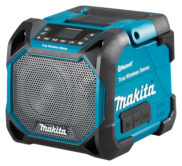 Makita DMR203 18V Bluetooth Speaker With LCD Display & USB Connection - Body Only
