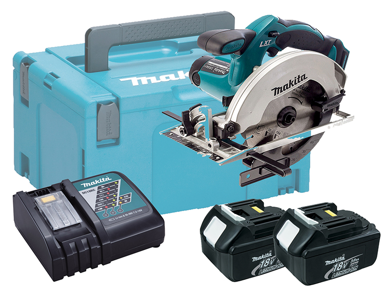 Makita DSS611 18V Brushed 165mm Circular Saw LXT - 3.0ah Pack