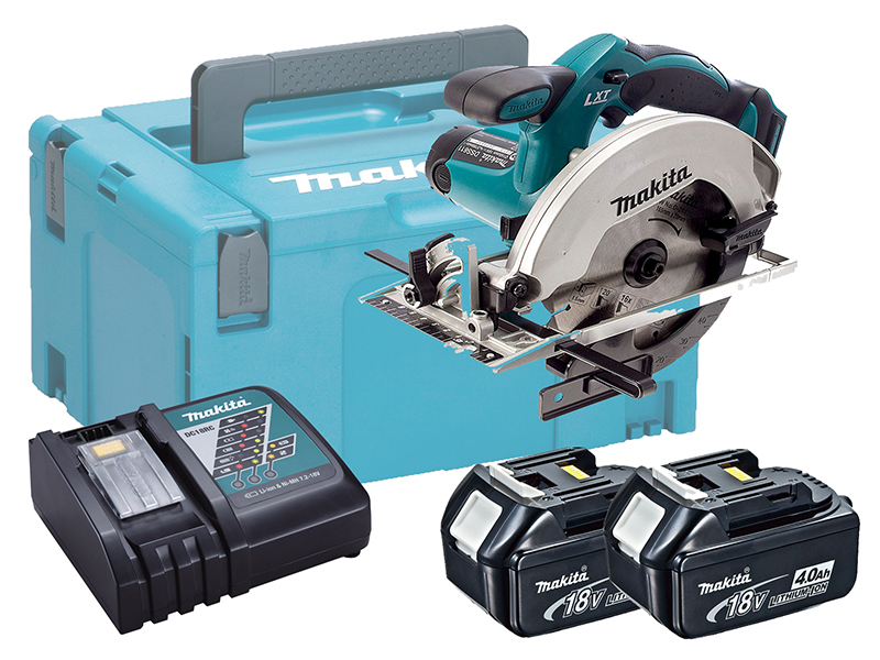 Makita DSS611 18V Brushed 165mm Circular Saw LXT - 4.0ah Pack