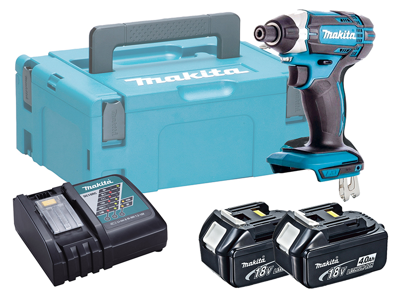 Makita DTD152 18V Brushed LXT Impact Driver High Rotation Speed - 4.0ah Pack