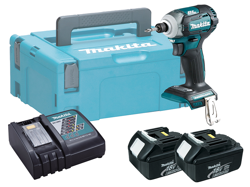 MAKITA 18V BRUSHLESS MULTI-MODE IMPACT DRIVER - DTD170 - 3.0AH PACK