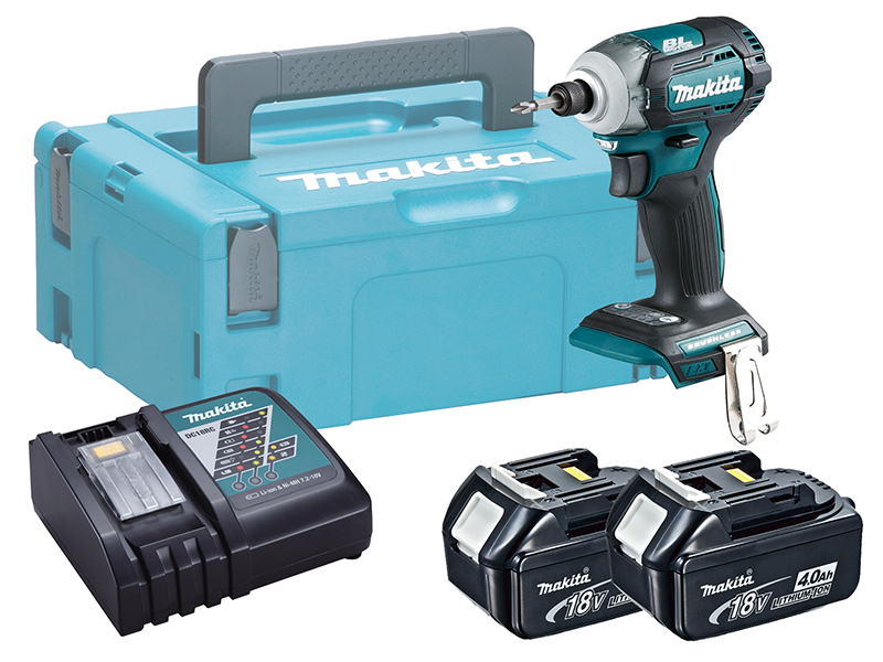 MAKITA 18V BRUSHLESS MULTI-MODE IMPACT DRIVER - DTD170 - 4.0AH PACK