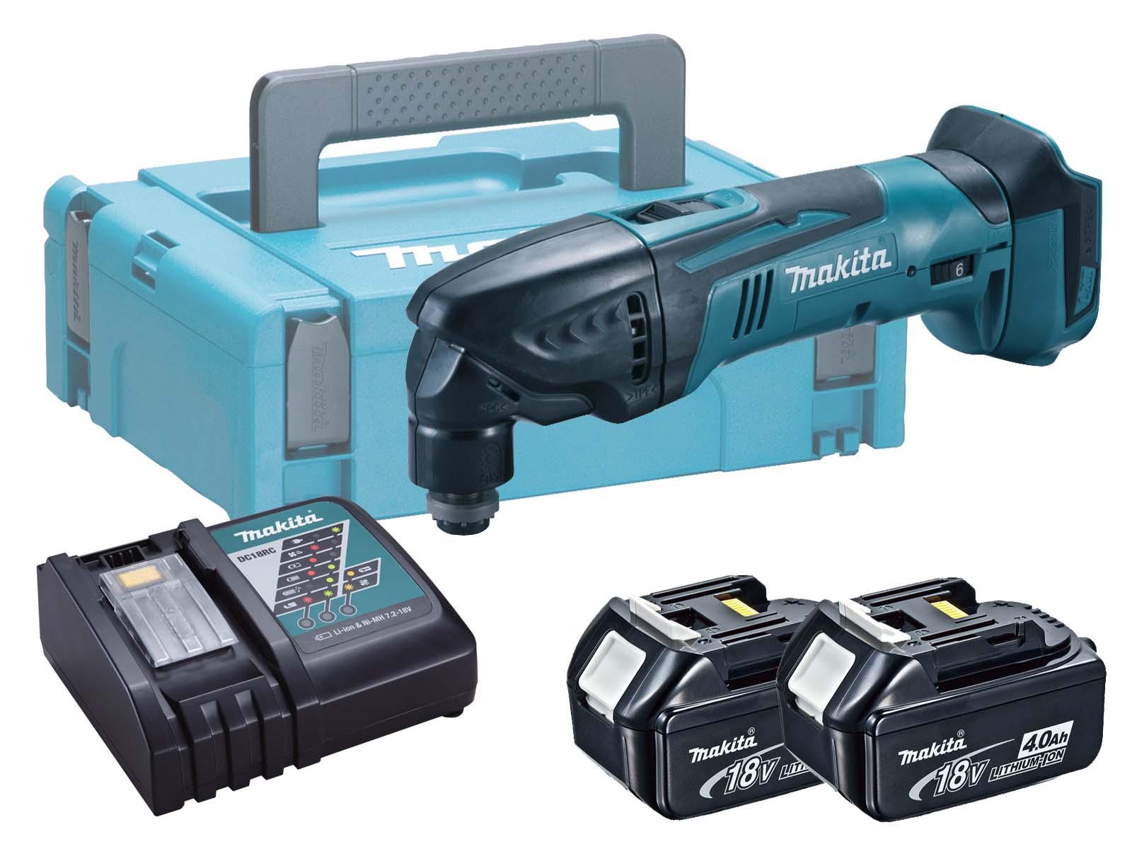 Makita 18V Brushed Multi Tool LXT - DTM50 - 4.0Ah Pack