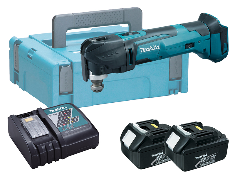 Makita DTM51 18V Brushed LXT Multi-Function Tool - 3.0ah Pack