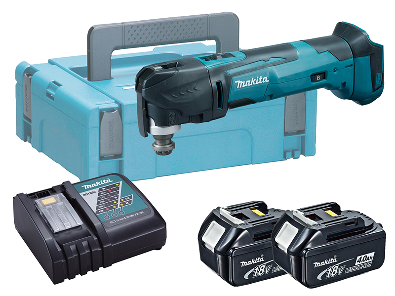 Makita DTM51 18V Brushed LXT Multi-Function Tool - 4.0ah Pack