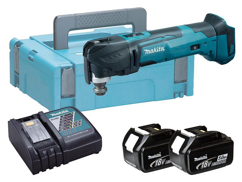 Makita DTM51 18V Brushed LXT Multi-Function Tool - 5.0ah Pack