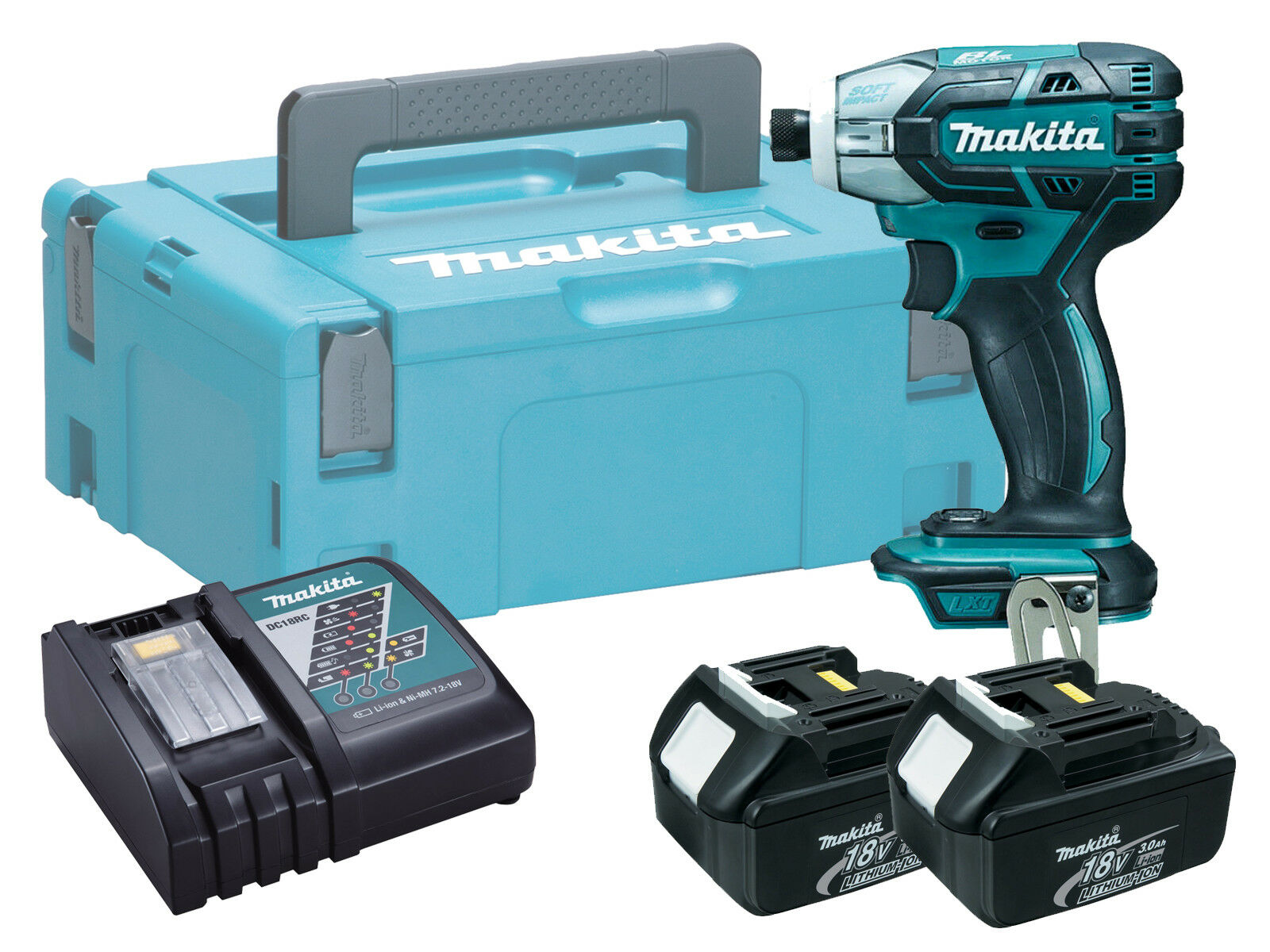 Makita DTS141 18V Brushless Cordless Oil Pulse Driver - 3.0ah Kit