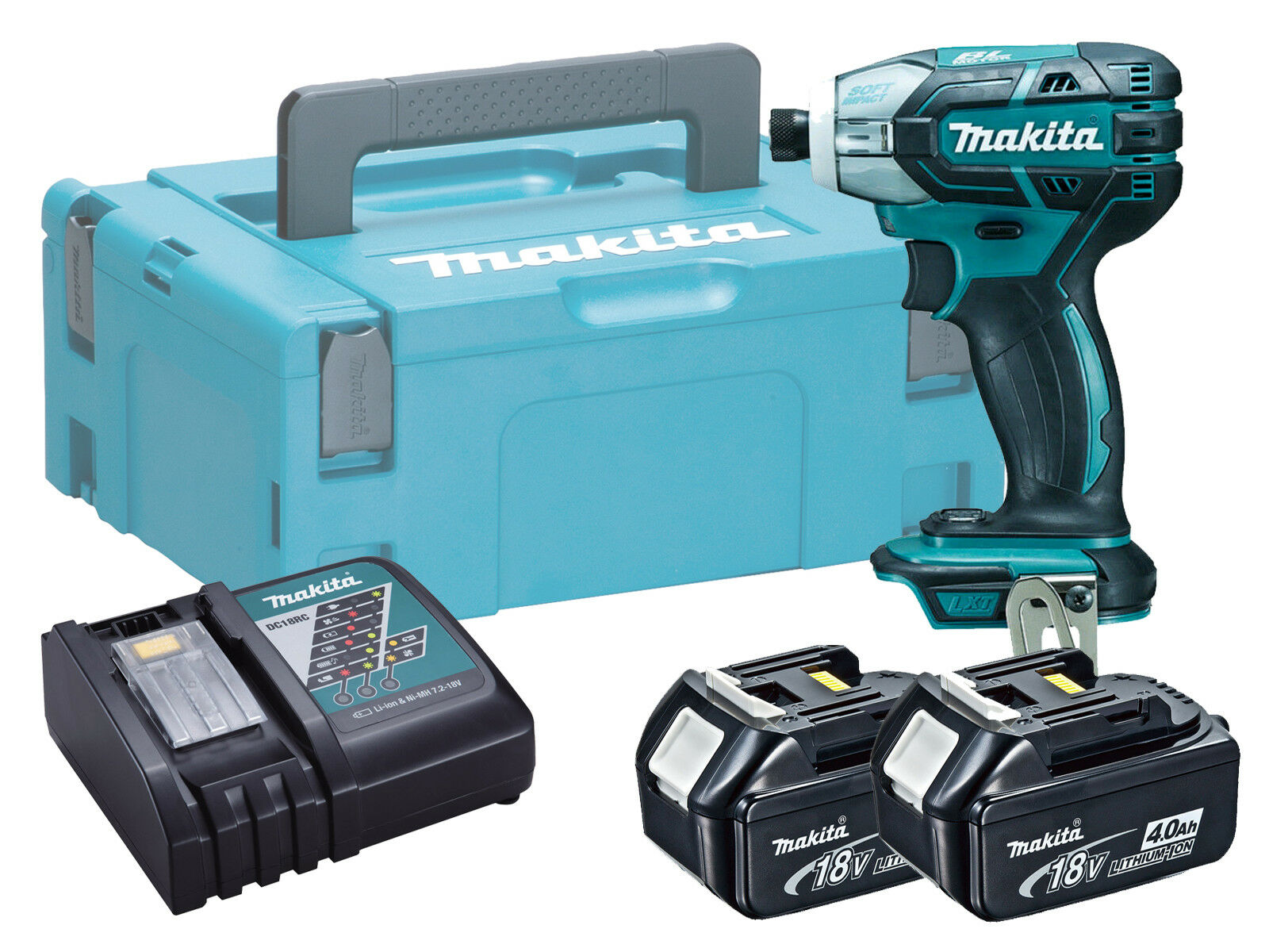 Makita DTS141 18V Brushless Cordless Oil Pulse Driver - 4.0ah Kit