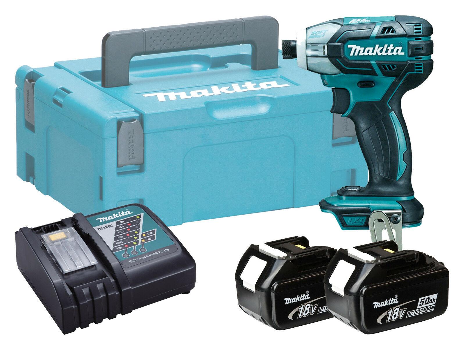 Makita DTS141 18V Brushless Cordless Oil Pulse Driver - 5.0Ah Kit
