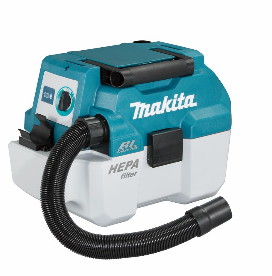 MAKITA 18V BRUSHLESS WET N DRY DUST EXTRACTOR - DVC750LZ - BODY ONLY