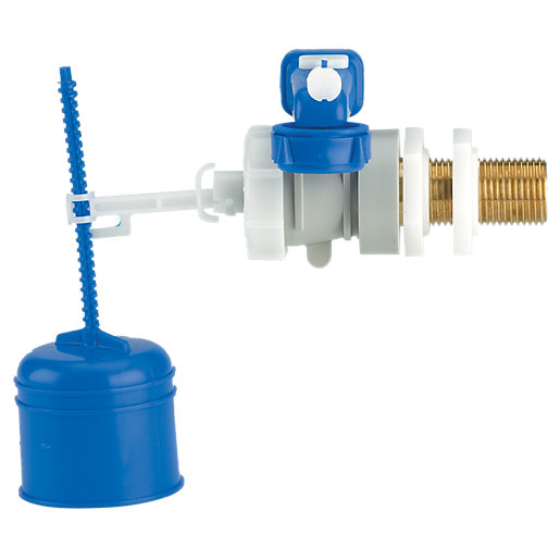 DUDLEY HYDROFLO SIDE ENTRY FLOAT VALVE BRASS TAIL (324299)
