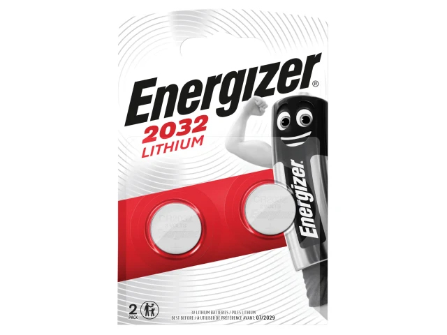 ENERGIZER CR2032 COIN LITHIUM BATTERY (PACK OF 2) S5312