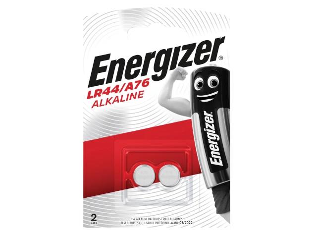 ENERGIZER LR44 COIN ALKALINE BATTERIES PACK OF 2 - S3285