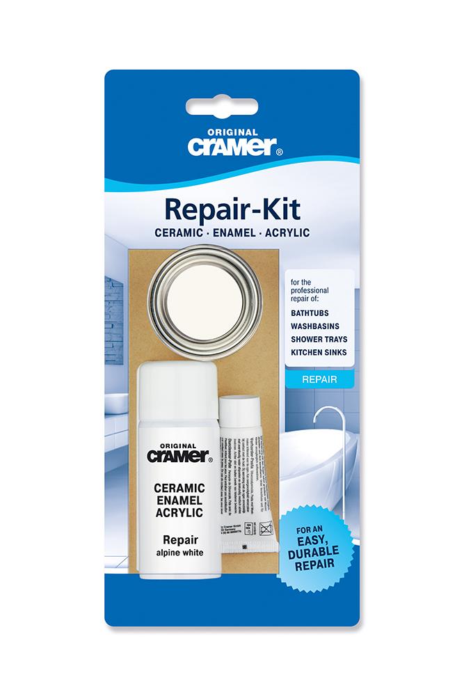 Cramer Ceramic Enamel Repair Kit - White