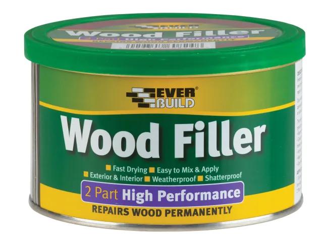 EVERBUILD WOOD FILLER HIGH PERFORMANCE 2 PART OAK 500G - 2POAK05