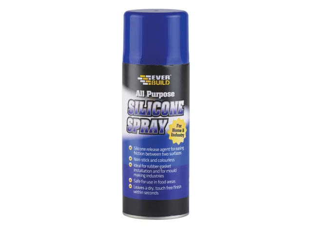 Everbuild All Purpose Silicone Spray 400ml - SILSPRAY