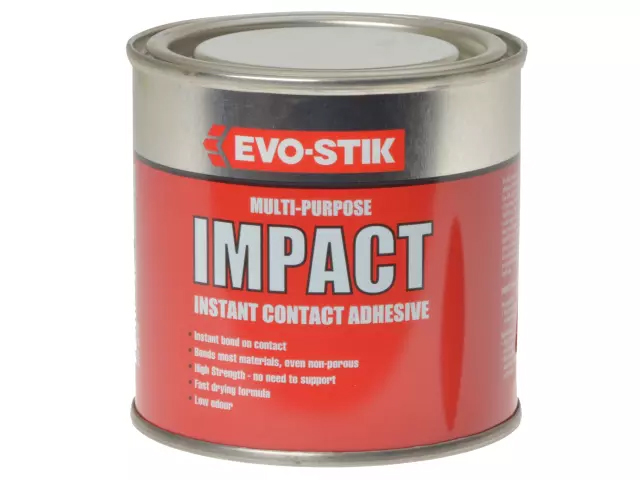 EVOSTIK IMPACT CONTACT ADHESIVE - 250ML TIN