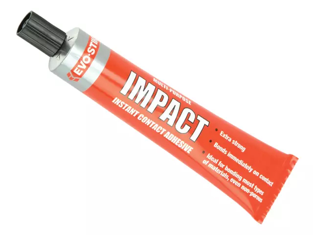 EVOSTIK IMPACT CONTACT ADHESIVE - LARGE TUBE 67G