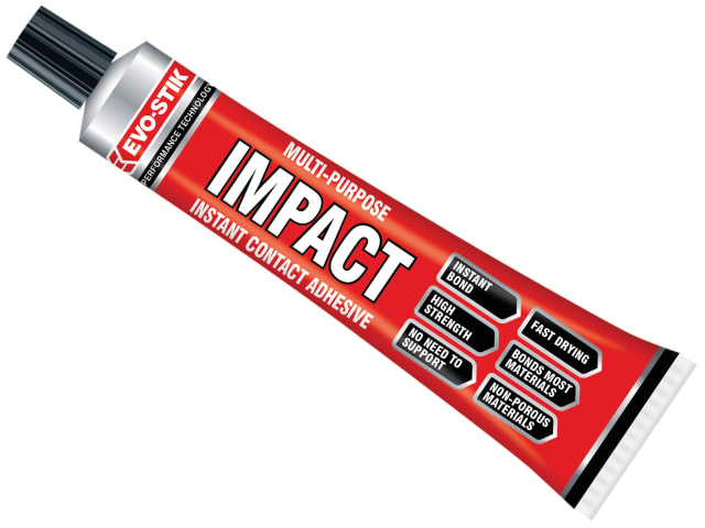 EVOSTIK IMPACT CONTACT ADHESIVE - SMALL TUBE 30G