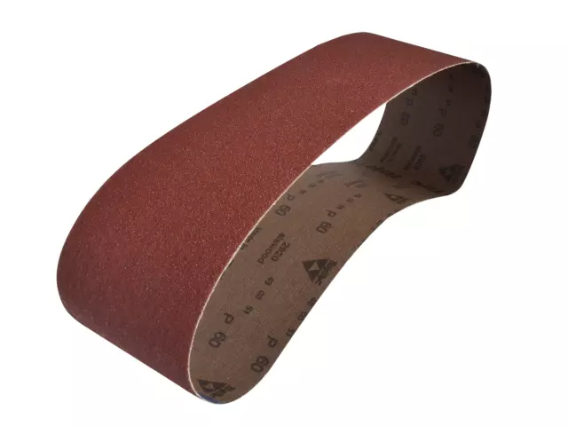 FAITHFULL CLOTH SANDING BELT 915 X 100MM 60 GRIT