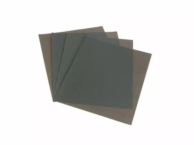 FAITHFULL WET & DRY PAPER SANDING SHEETS 230 X 280MM FINE 120G PACK OF 4