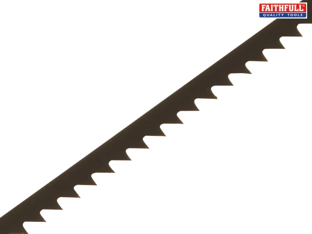 FAITHFULL COPING SAW BLADE FOR WOOD 14TPT