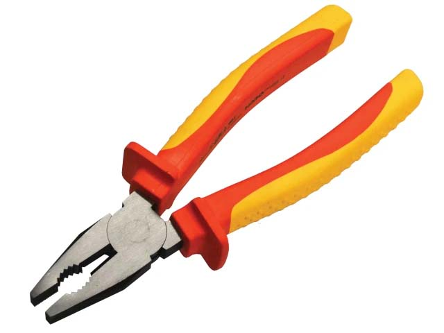 Faithfull VDE Combination Pliers 210mm (8in)