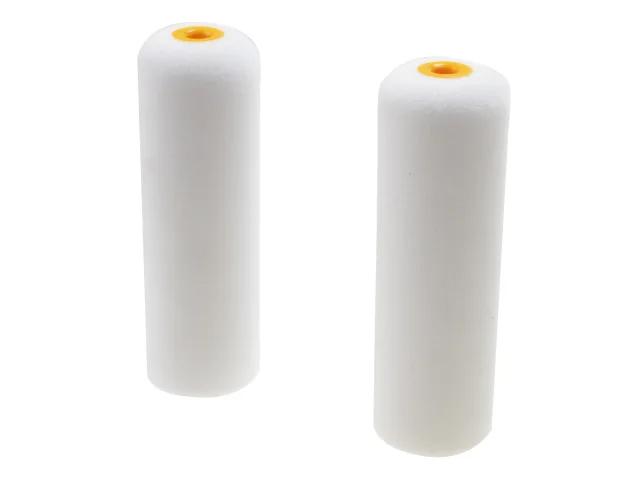 Faithfull 2 Foam Mini Roller Refills 100mm (4In)