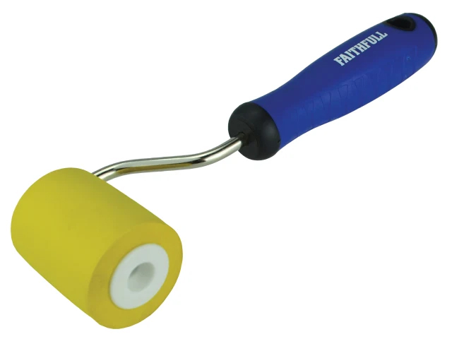 Faithfull Seam Roller - Soft Soft Grip Handle
