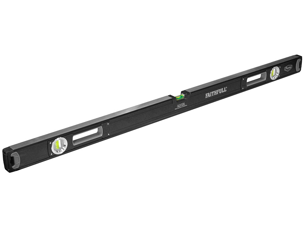 Faithfull 1200mm Heavy-Duty Prestige Pro Spirit Level - 1200mm