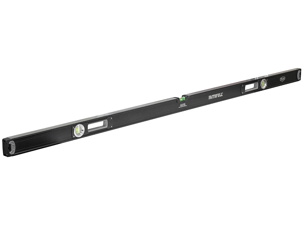 Faithfull 1800mm Heavy-Duty Prestige Pro Spirit Level - 1800mm