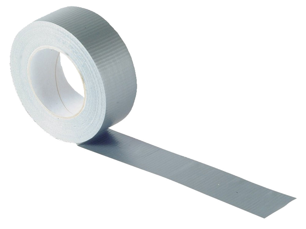 Faithfull Gaffa Tape 50mm x 50m Silver