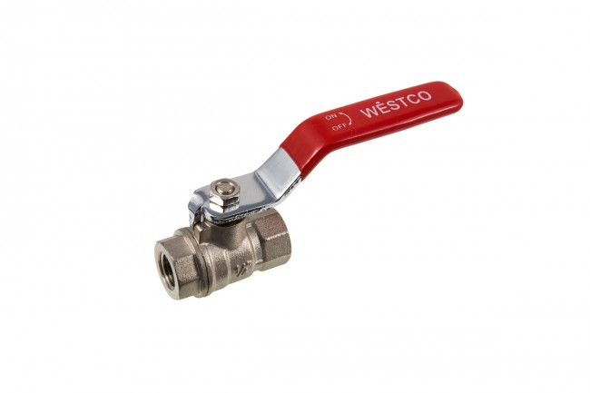"1/4"" BSP FULL BORE LEVER BALLVALVE (WATER) - FEMALE X FEMALE THREAD"