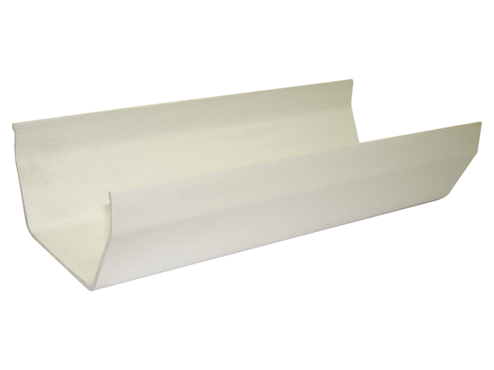 RGS4W 114MM SQUARE GUTTER WHITE