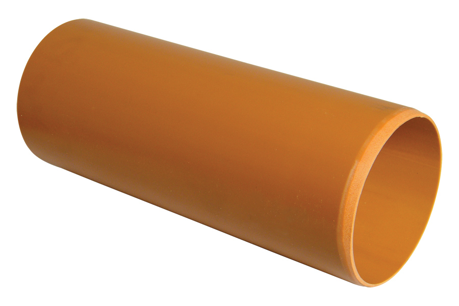 Floplast D046 110mm Underground Drainage Pipe Plain Ended