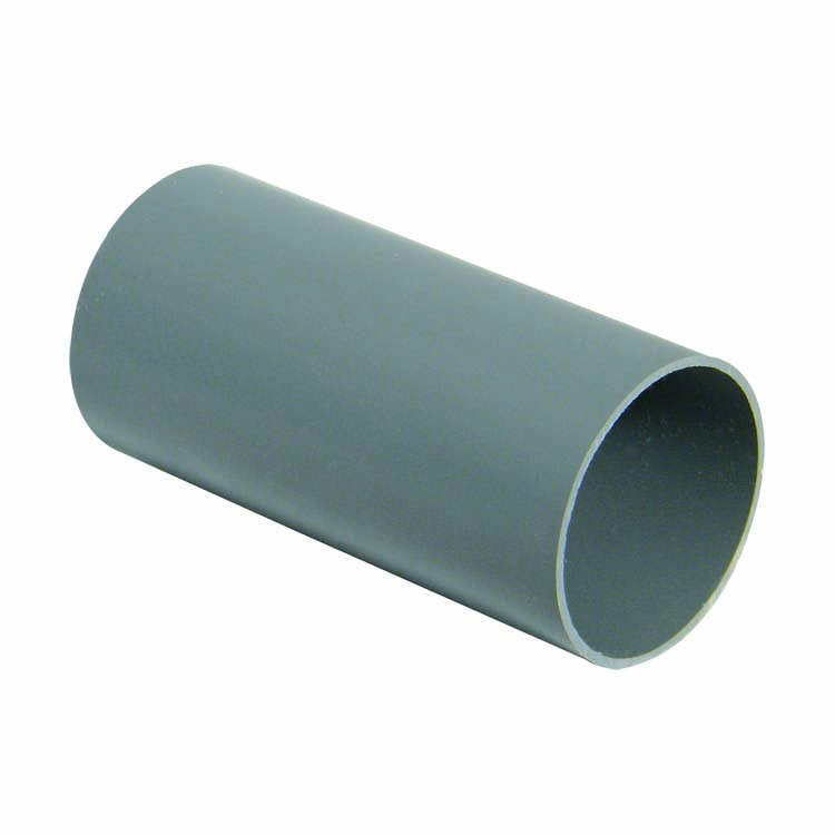 FLOPLAST RPM2GR MINIFLO 50MM DOWNPIPE - RPM2 DOWNPIPE 2 METRE - GREY