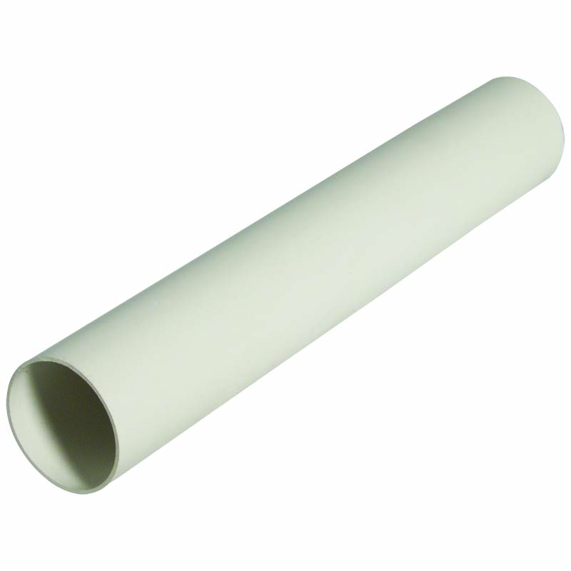 FLOPLAST MINIFLO 50MM DOWNPIPE - RPM2 DOWNPIPE 2M - WHITE
