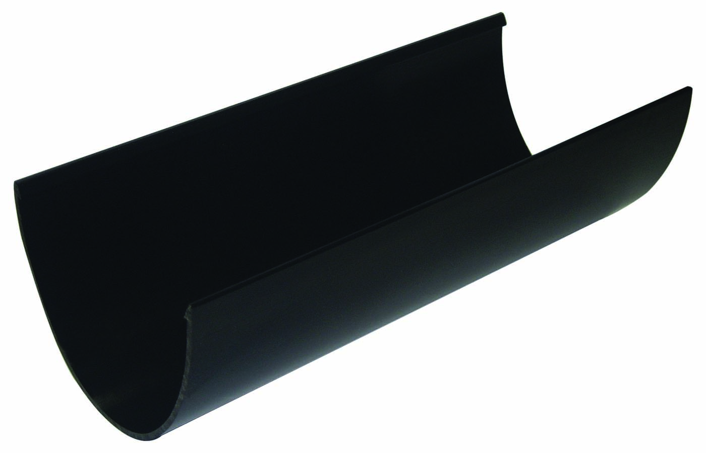 FLOPLAST RGH4BL HI-CAP GUTTER 4MTR - BLACK