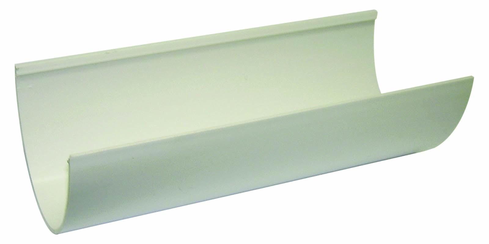 Floplast RGH4WH 115mm Hi-Cap (Deepflow) Gutter 4 Metre - White