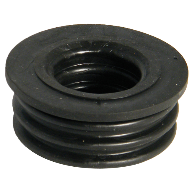 FLOPLAST SP12 SOIL SYSTEM - 50MM BOSS ADAPTOR - RUBBER PUSH-FIT