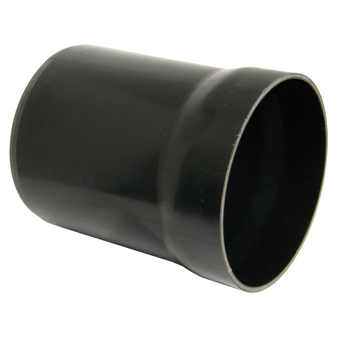 Floplast D505 Riser Back Inlet Gully Trap Black 110mm Underground Drainage