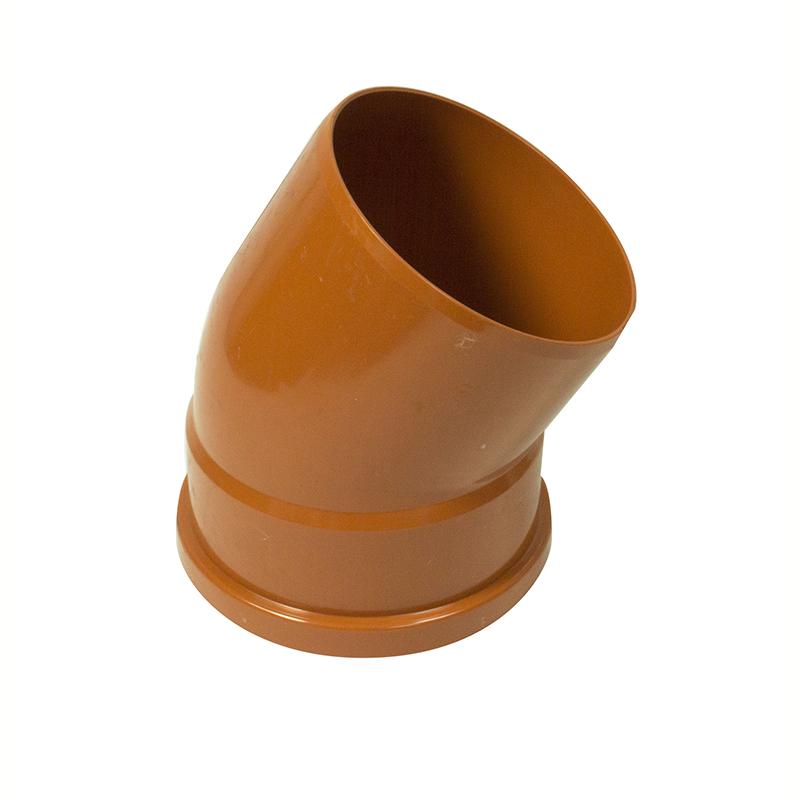 FLOPLAST 6D164 30 DEGREE SINGLE SOCKET UNDERGROUND BEND